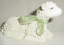 Resin Lamb/Sheep Figurine Laying Down