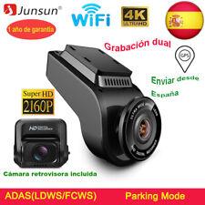 Junsun Ultra HD 4K 2160P Cámara de Coche Dashcam WIFI GPS DVR Visión Nocturna