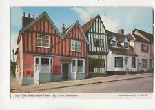 Post Office & Crooked House High Street Lavenham Postcard 236b