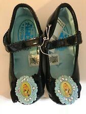 Disney Store Alice In Wonderland Dress Up Costume Mary Jane Shoes Girls Sz 9/10