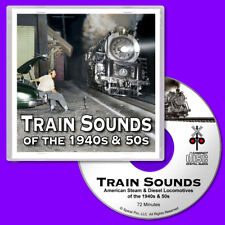 Train Sounds CD Steam & Diesel Locomotives for Z Scale Model Railroads