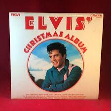 ELVIS PRESLEY Elvis' Christmas Album  1970 UK Vinyl LP EXCELLENT CONDITION