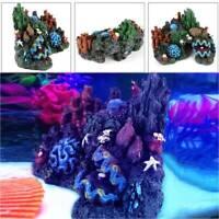 Fish Tank Ornament Coral Reef Resin Coral Plant  Mountain Fish Aquarium Décor