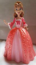 "Princess Doll - Pink Dress Mattel 2012 Y6554 5.5"" hard Plastic Toy Cake topper"