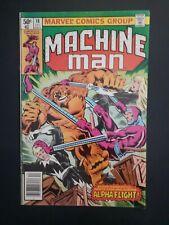 Machine Man #18 (1980) FN-  early Alpha Flight X-men 140 tie-in