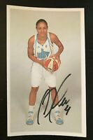 CANDICE DUPREE WNBA Chicago Sky Auto Autographed Signed Custom 3x5 Index Card