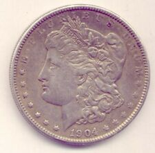 USA  1904 LOVELY SILVER DOLLAR - NICE CONDITION  NO  RESERVE