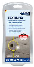 123Repair Textil-Fix - Teppich Reparaturset, Brandloch, Risse in Stoff & Polster