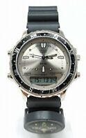 Orologio Citizen C480-313585 vintage watch ana digit clock wr100 montre rare