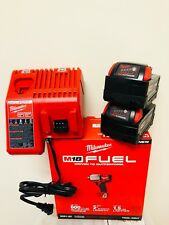 """Milwaukee M18 2861-20 18V 1/2"""" Brushless Impact Wrench + (2) 5.0AH + (1) Charger"""