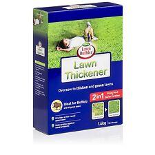 Lawn Builder LAWN THICKENER 1.4kg, Grass Seed+Starter Fertiliser *Aust Brand