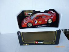 Burago Modellauto 1:18 Ferrari  F 40 CLUB ITALIA   AS NEW IN Box