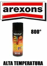 AREXONS SMALTO VERNICE SPRAY TRASPARENTE ALTE TEMPERATURE 600° per MARMITTE