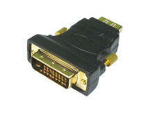 DVI-D Male to HDMI 1.4 Female Cable Connecter Adapter Convert DVI signal to HDMI