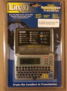LINGO8, GLOBAL 8 LANGUAGE NONE TALKING TRANSLATOR, NC1072685, OVER 64,000 WORDS