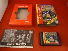 Sonic the Hedgehog 3 (Sega Genesis, 1994) COMPLETE w/ Box manual game WORKS! #Q1