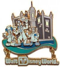 Disney Pin: Retro Walt Disney World Resort Haunted Mansion - Mickey Goofy Donald