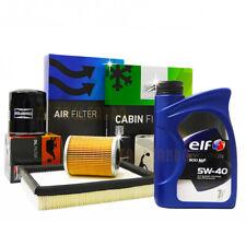 Kit tagliando RENAULT CLIO II 2 1.5 dCi filtri champion + 5l olio ELF 5w40 900nf