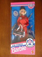 Air Force Barbie Thunderbirds Special Edition 1993 - NRFB - Mattel # 11552