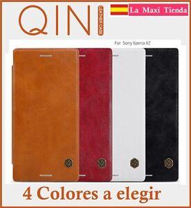"Cover for "" sony Xperia Xz "" qin Nillkin Original flip Case Leather Cover Box"