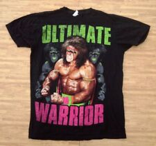 Ultimate Warrior Black Shirt ~ Men's Small S ~ WWE WWF WCW NWA Wrestling