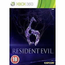 Resident Evil 6 Xbox 360 Brand New Factory Sealed