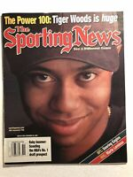 2000 Sporting News TIGER WOODS The MASTERS Newsstand TIGER WALK No Label IS HUGE