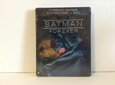 Batman Forever - Steelbook (Blu-Ray + DVD) - DC Comics collection *NEW*