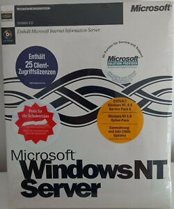 Microsoft Windows NT 4.0 Server, AE Version, Deutsch - NEUWARE