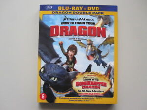 HOW TO TRAIN YOUR DRAGON - BLU-RAY + DVD