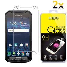 [2-Pack] KHAOS Ballistic Glass Screen Protector For Kyocera DuraForce Pro