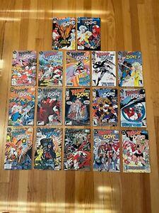 Hawk & Dove DC Comic Book Collection Lot 1989 Rare #1-#17 New Teen 1989 Titans 5