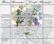 Slowenien 82/85 Block 1 ** Flora (2406)