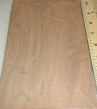 "Walnut Burl wood veneer 6"" x 9"" with paper backer 1/40th"" thickness ""A"" grade"