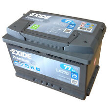 EXIDE PREMIUM mit Carbon Boost EA 770 12V 77AH Kälteprüfstrom EN (A): 760