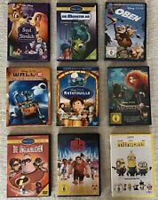 Walt Disney Sammlung DVD - Susi&Strolchi/Monster AG/Wall.E/Oben/Ratatouille/....