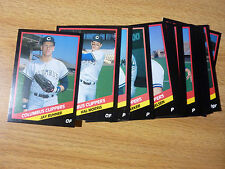 COLUMBUS CLIPPERS 1988 Pacific Coast League/PCL-NEW YORK YANKEES Team Set (CMC)