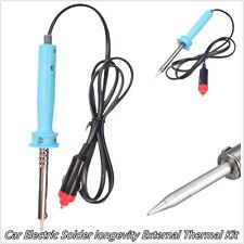 Diy 12 volt voiture 60W off-road electric solder soudure outil externe thermique kit