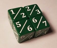 4x Tarmogoyf Dice for Magic: The Gathering CCG MTG Goyf Dice Counter