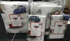 Pottery Barn Kids Disney CARS organic QUEEN duvet shams sheet set FLANNEL