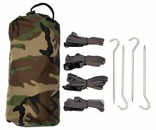 Aqua Quest Defender Tarp + Accessories Kit - 100% Waterproof 10 x 7 ft Tarpaulin