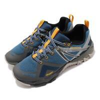 Merrell MQM Flex GTX Gore-Tex Blue Grey Mens Outdoors Hiking Shoes J48927