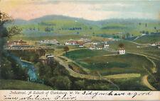 Industrial WV * Suburb of Clarksburg View ca. 1906 *