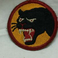 Vtg Military Patch 66th Infantry Division Insignia Variant 66 Close Up Type II
