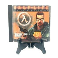 """""""Half Life"""" Game Of The Year Edition Pc Game And Disc Excellent! Sierra Studios"""