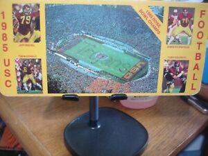 1985 USC Football Media Guide WORLD SHIP AVAIL