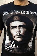 Ernesto Che Guevara Black Retro T-Shirt Vintage Political Cuba Revolution Size S