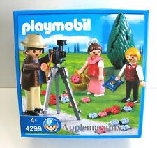 NEW/SEALED NIB Playmobil 4299 Wedding Photographer with Flower Girl, Ringbearer
