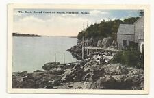 EASTPORT MAINE ME Rock Bound Coast Vtg 1921 Postcard
