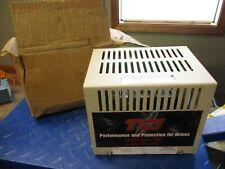 TCI KLC OUTPUT FILTER KLC16BE 3 PHASE 60HZ 600V MAX 16A MAX #512858T NIB